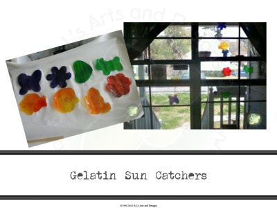 Gelatin Sun Catchers