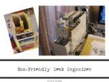 Desk Organzier Made Out ofCardboard