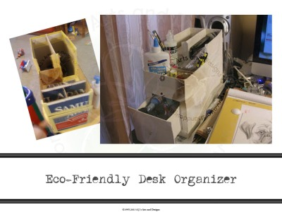 Eco-Friendly Desk Organizer