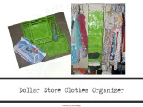 How to Make a Clothes Organizer (SuperEasy!)