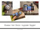 Tasty Tuesday – Train Cupcake Topper How To