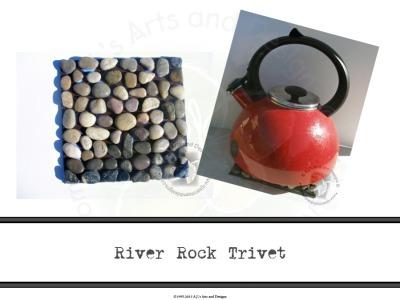 River Rock Trivet