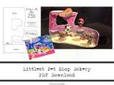 How To Make a Littlest Pet Shop Bakery –Template