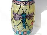 Sakura Blog Hop – Tiffany Inspired Vase withFlowers