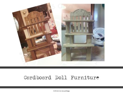 Cardboard Doll Furniture