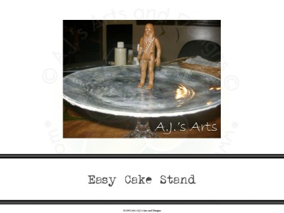 Easy Cake Stand