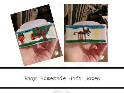 Easy Homemade Gift Boxes