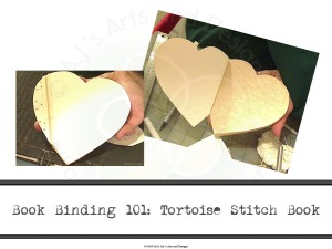 Book Binding 101: Tortoise Stitch Book