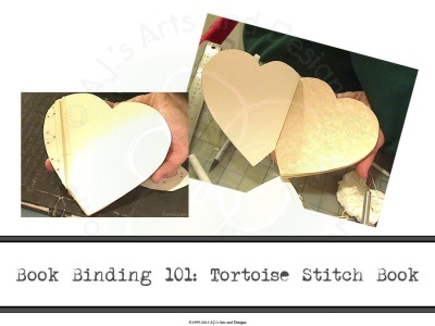 Book Binding 101: Tortoise Stitch Book