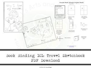 Book Binding 101: Travel Sketchbook PDF Download