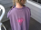 Subtraction Girl – Super Hero Cape