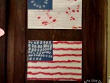 Flag Day Kid Art