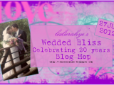 Leslie-Rahye's Wedded Bliss Blog Hop