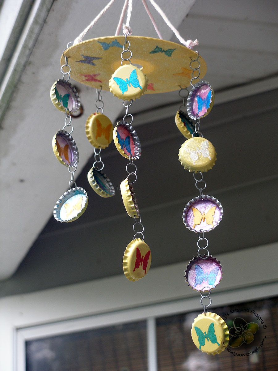 Homemade Wind Chimes How To Make Wind Chimes Out Of Bottle Caps The Best Bottle