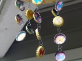 Bottle Cap Wind Chimes for Sakura Design Team