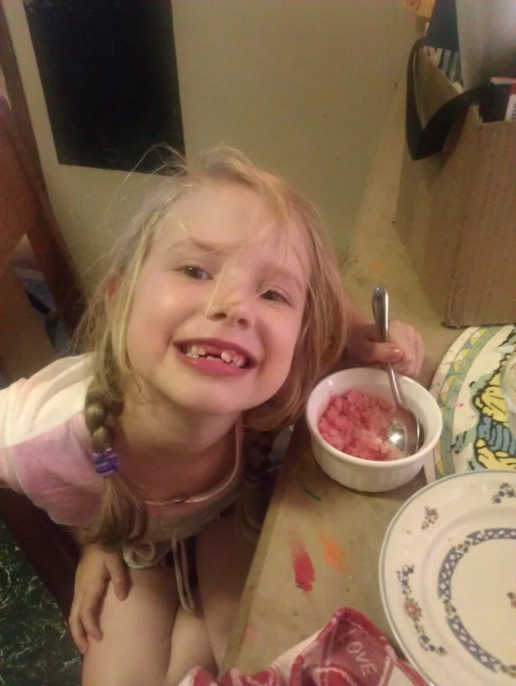 Watermelon (No Sugar Added) Snow Cones (5/6)