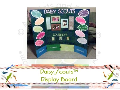 Daisy Scouts Display Board