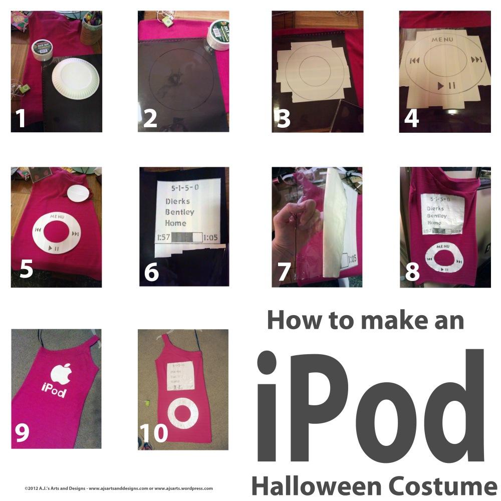 Homemade iPod Costume (2/3)