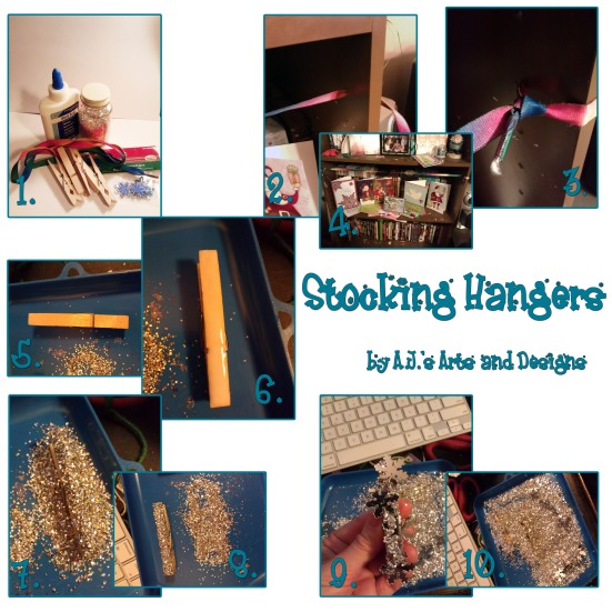 Step by Step Stocking Hangers