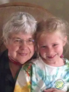 Great photo of the Princess with her Great-Grandma Dona