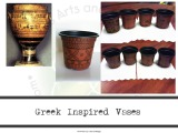 "Geometric Greek Inspired ""Vases"""