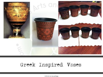 Greek Inspired Vases