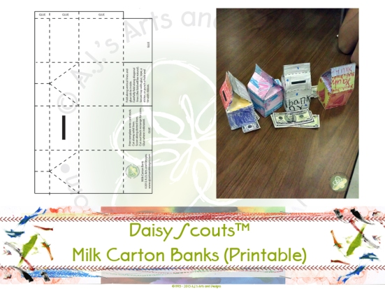 Milk Carton Banks