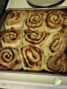 They look so pretty after they were baked!