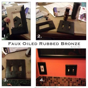 Faux Oiled Rubbed Bronze How To