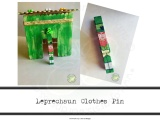 Leprechaun Clothes Pin