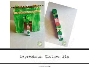 Leprechaun Clothes Pin