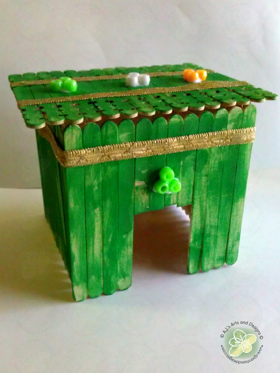 Our Leprechaun House