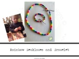 Rainbow Necklaces and Bracelets