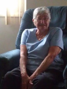 My grandma, I took this photo when I was home last August.  Happy 90th Birthday Grandma!