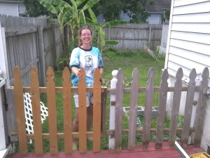 Look my fence - After