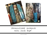 Personalized Backpack with DuckTape