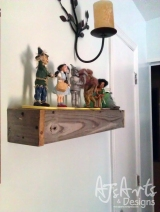 Reclaimed Wood Shelf Ledge – Pottery Barn Knockoff