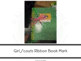 Ribbon Dragonfly Bookmarks