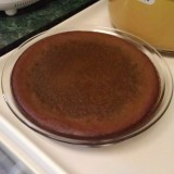 Crustless Chocolate PumpkinPie