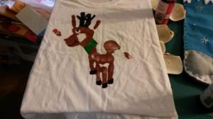 Christmas T-shirt Craft