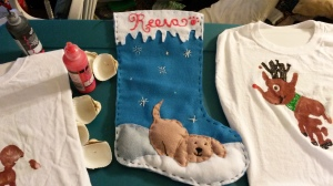 We also needed to make Reeva a stocking for Santa