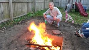 Fire pit success