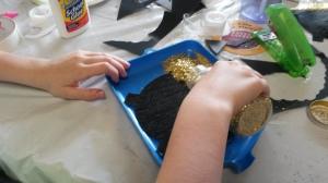 Adding Glitter