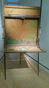 His amazing easel